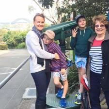 Taronga Zoo with mum and Grandma Neecy