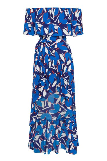Mister Zimi Cleo Dress in Sea Breeze